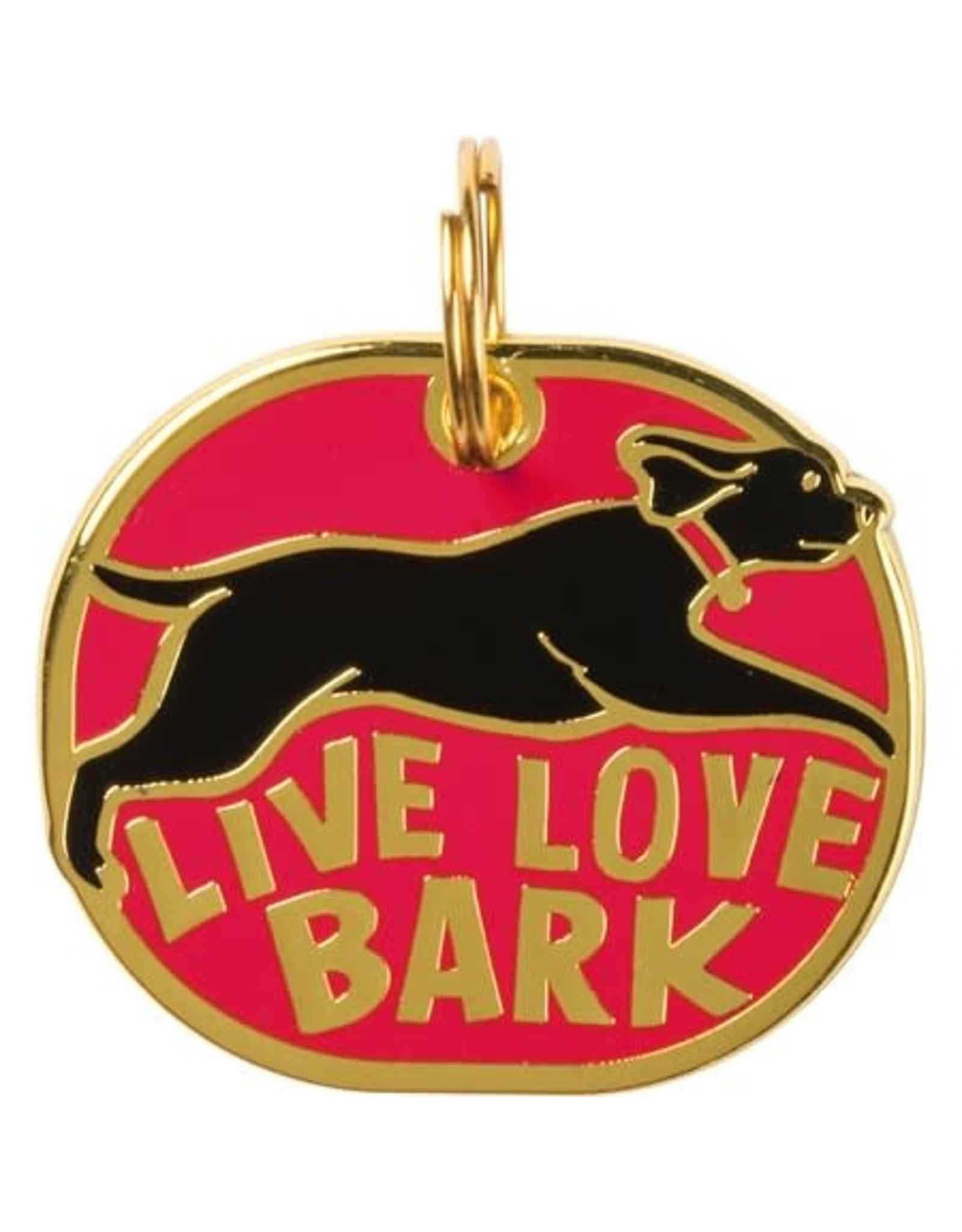Collar Charm, Live Love Bark