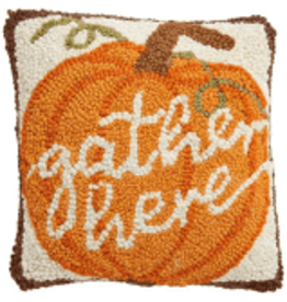 Mud Pie Gather Mini Hook Pillow-Gather Here