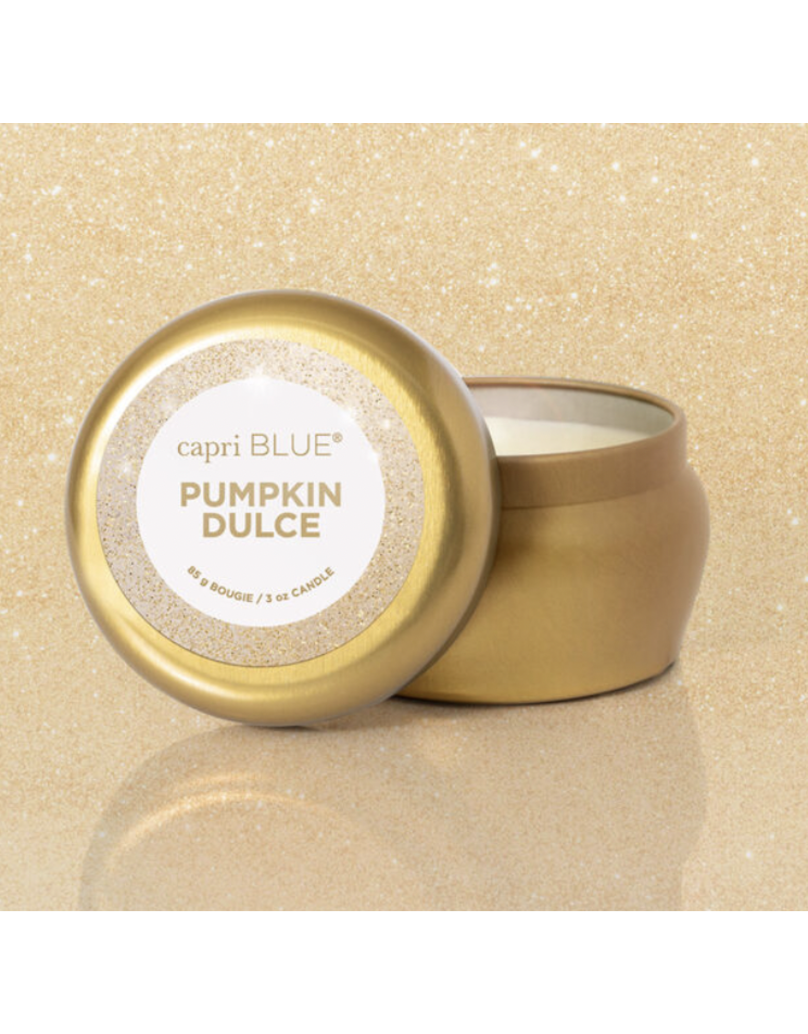 Pumpkin Dulce candle, Glam Mini Tin