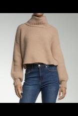 Turtleneck Criss Cross Back Sweater