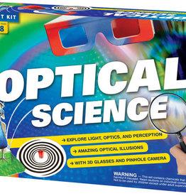 STEM EXPERIMENT KIT THAMES & KOSMOS OPTICAL SCIENCE
