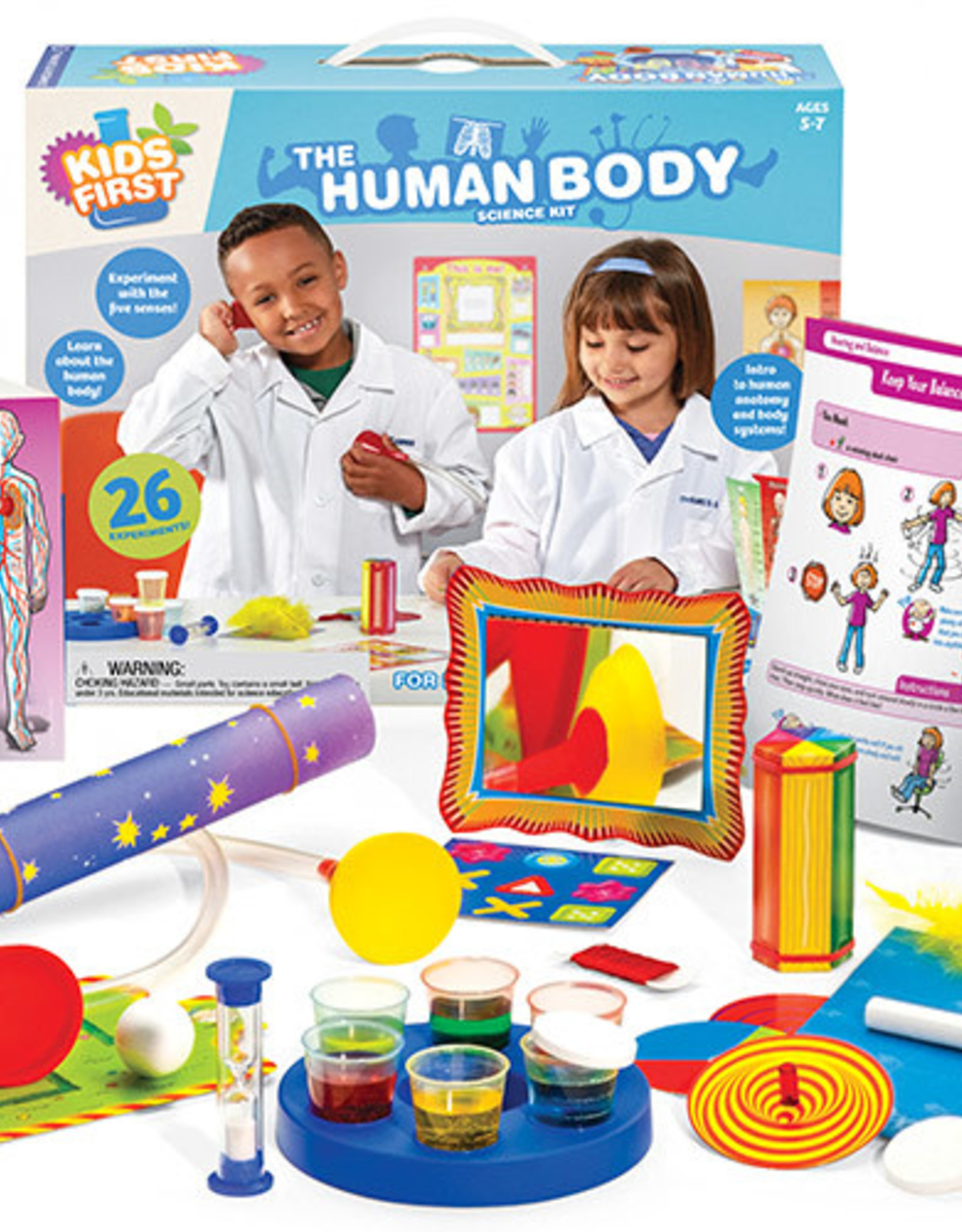 KIDS FIRST THE HUMAN BODY