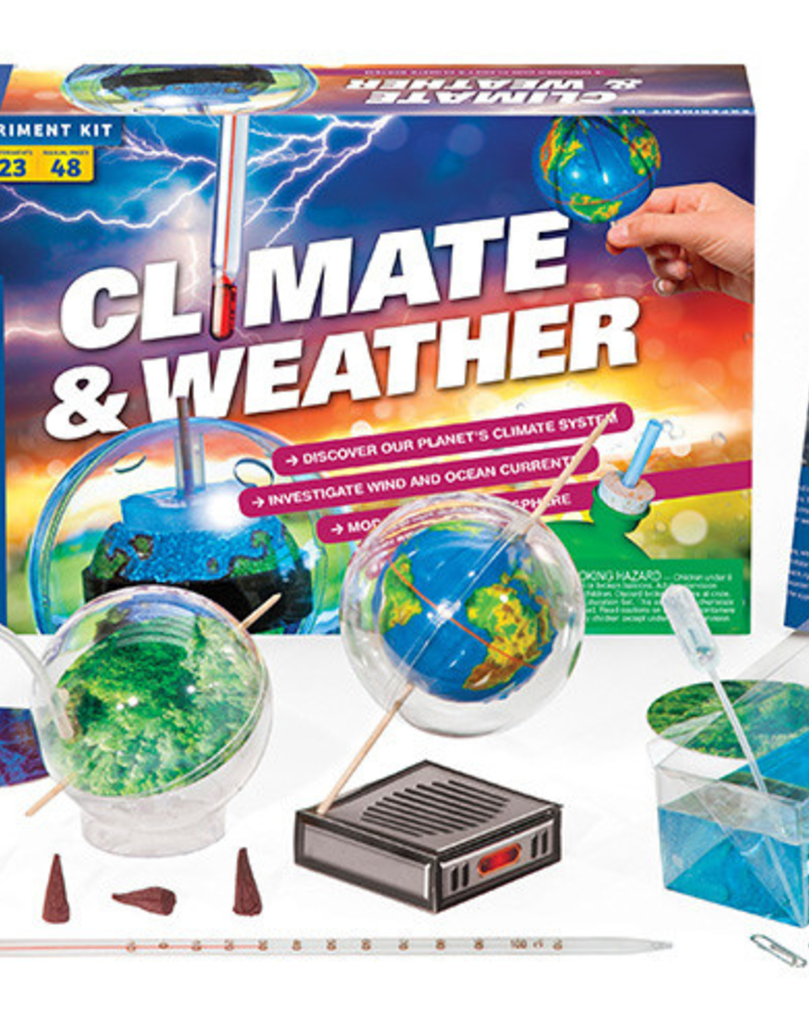 STEM EXPERIMENT KIT CLIMATE & WEATHER