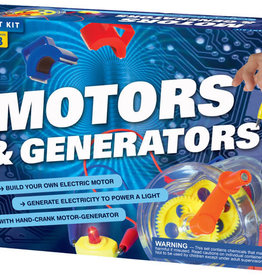 STEM EXPERIMENT KIT MOTORS & GENERATORS