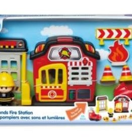 KIDOOZIE FIRE PLAYSET LIGHTS 'N SOUNDS