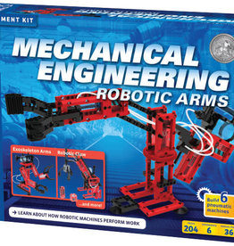 STEM EXPERIMENT KIT THAMES & KOSMOS MECHANICAL ENGINEERING ROBOTIC ARMS