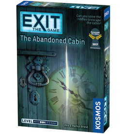 EXIT GAME EXIT GAME ABANDONED CABIN