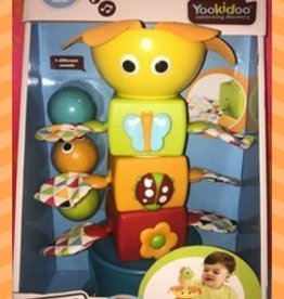 YOOKIDOO STACK FLAP N' TUMBLE TUMBLE BALL STACKER