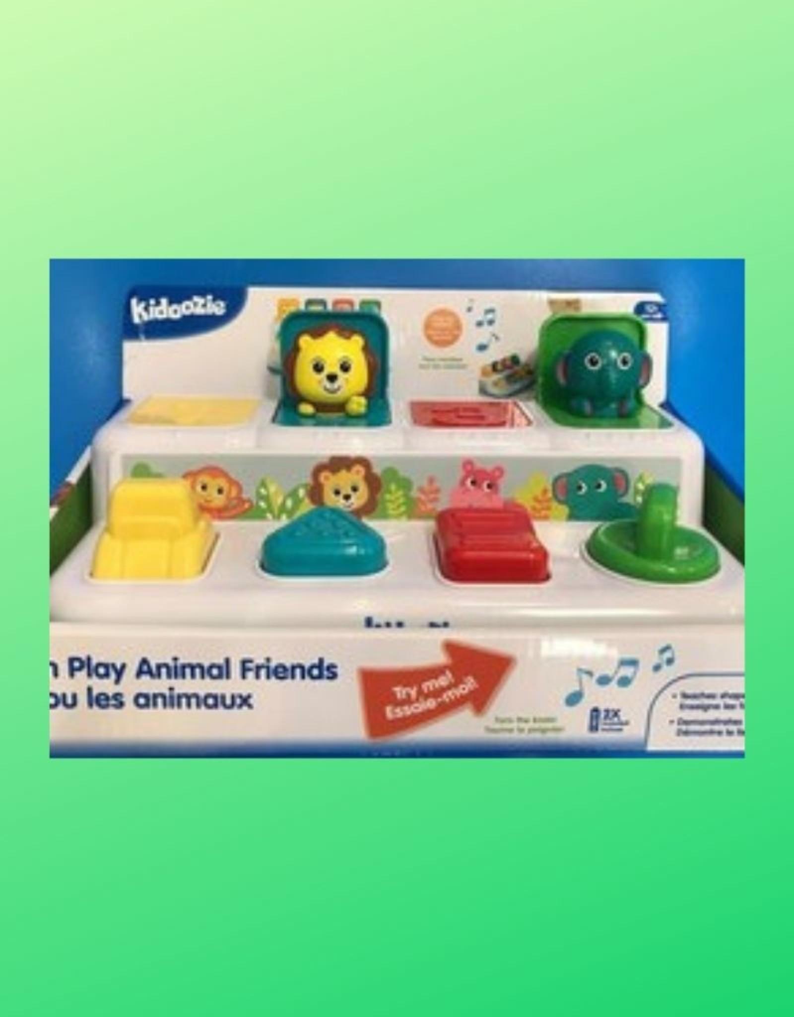 KIDOOZIE POP N PLAY ANIMAL FRIENDS