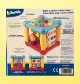 KIDOOZIE ACTIVITY CUBE LIGHT'S 'N SOUNDS