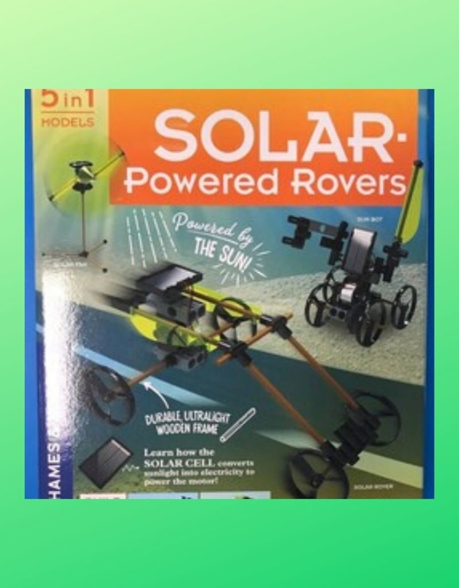 STEM EXPERIMENT KIT SOLAR POWERED ROVERS