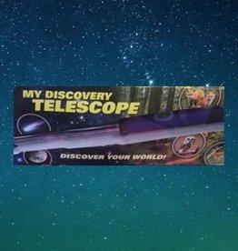 STEM EXPERIMENT KIT DISCOVERY TELESCOPE