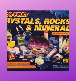KIDS FIRST CRYSTALS, ROCKS, & MINERALS