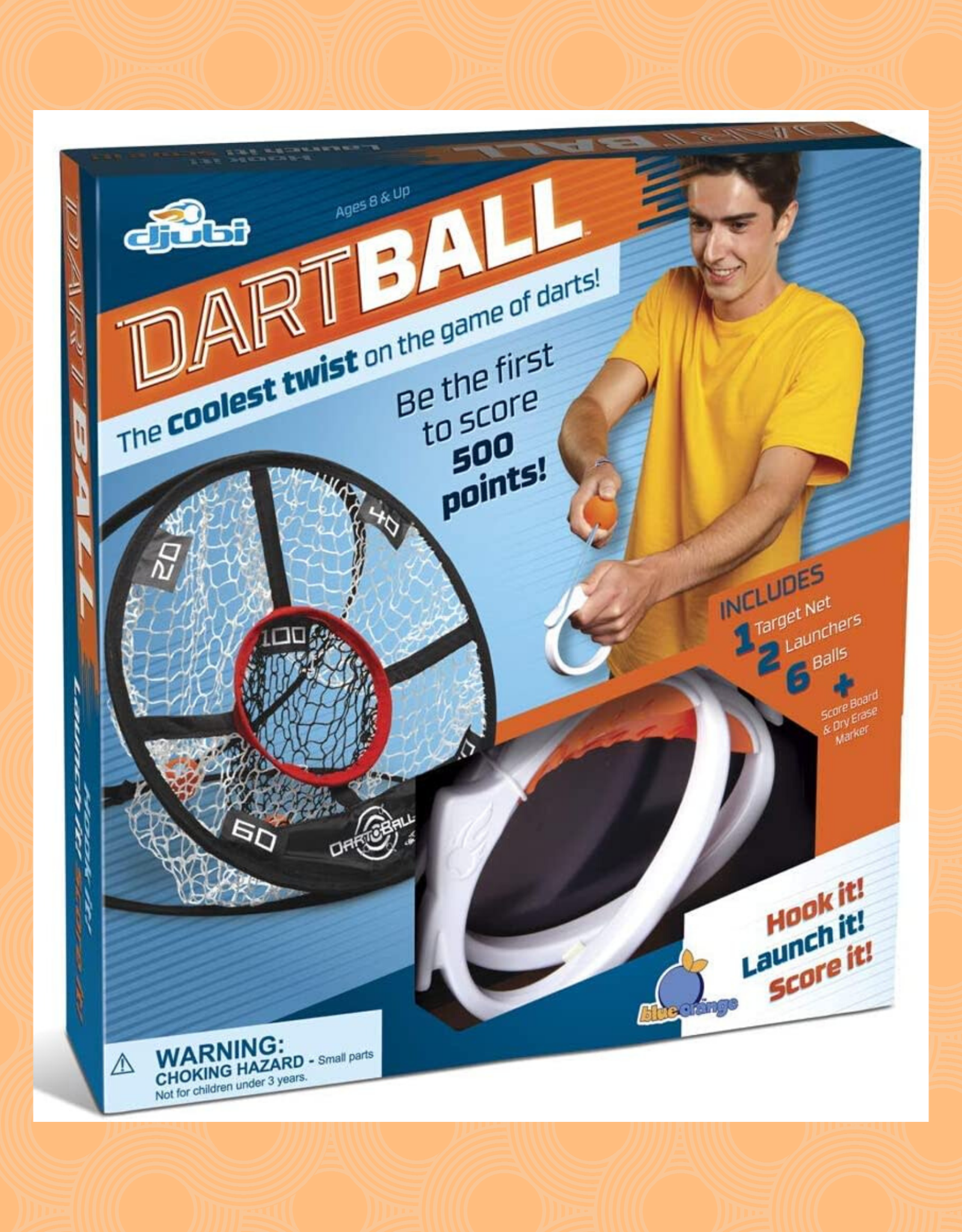 BLUE ORANGE DARTBALL  DJUBI