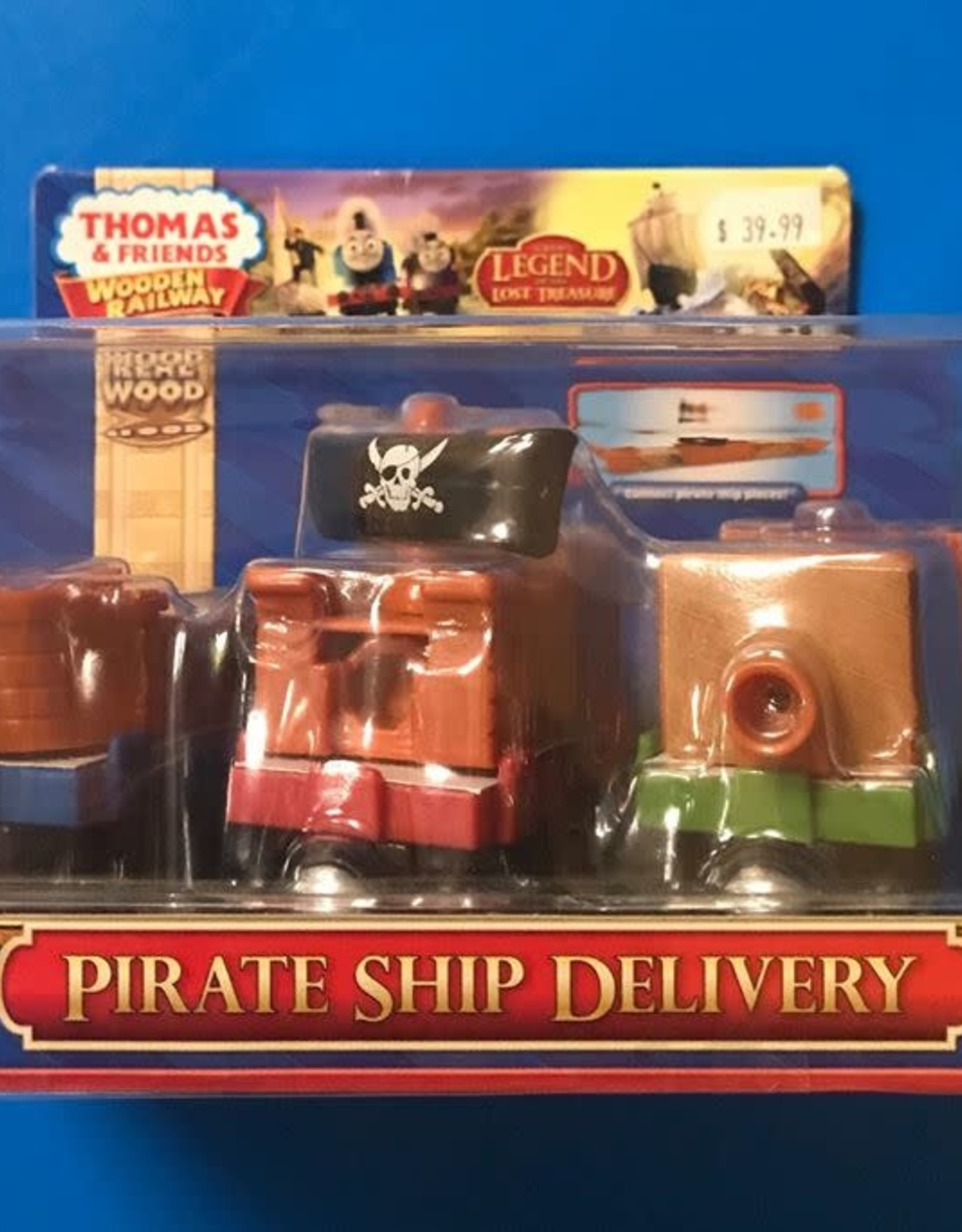 PIRATE SHIP DELIVERY