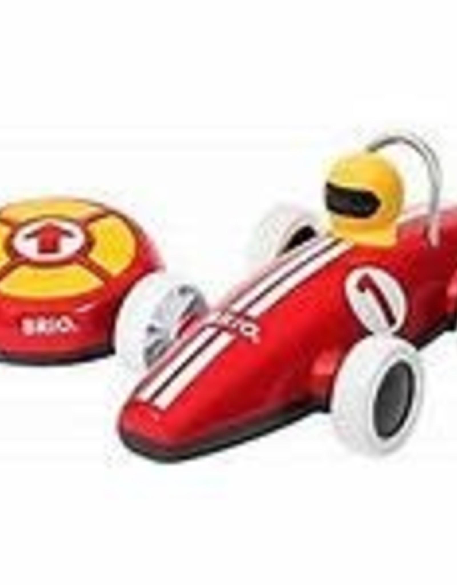 BRIO RAVENSBURGER RED RACE CAR