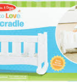 MELISSA & DOUG Play Cradle MINE TO LOVE