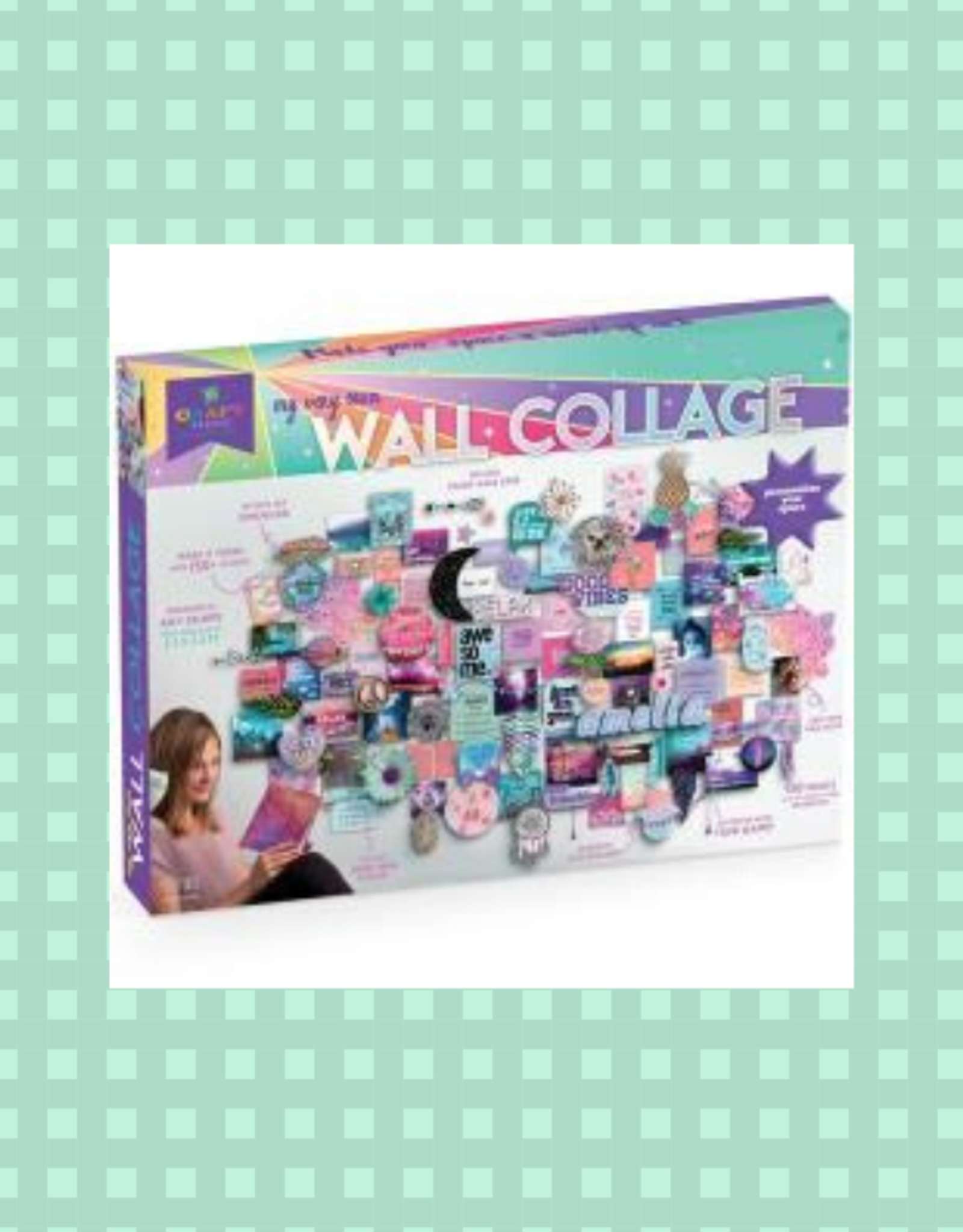 Craft-tastic My Very Own Wall Collage