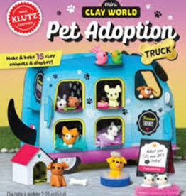 KLUTZ KLUTZ MINI CLAY WORLD PET ADOPTION TRUCK