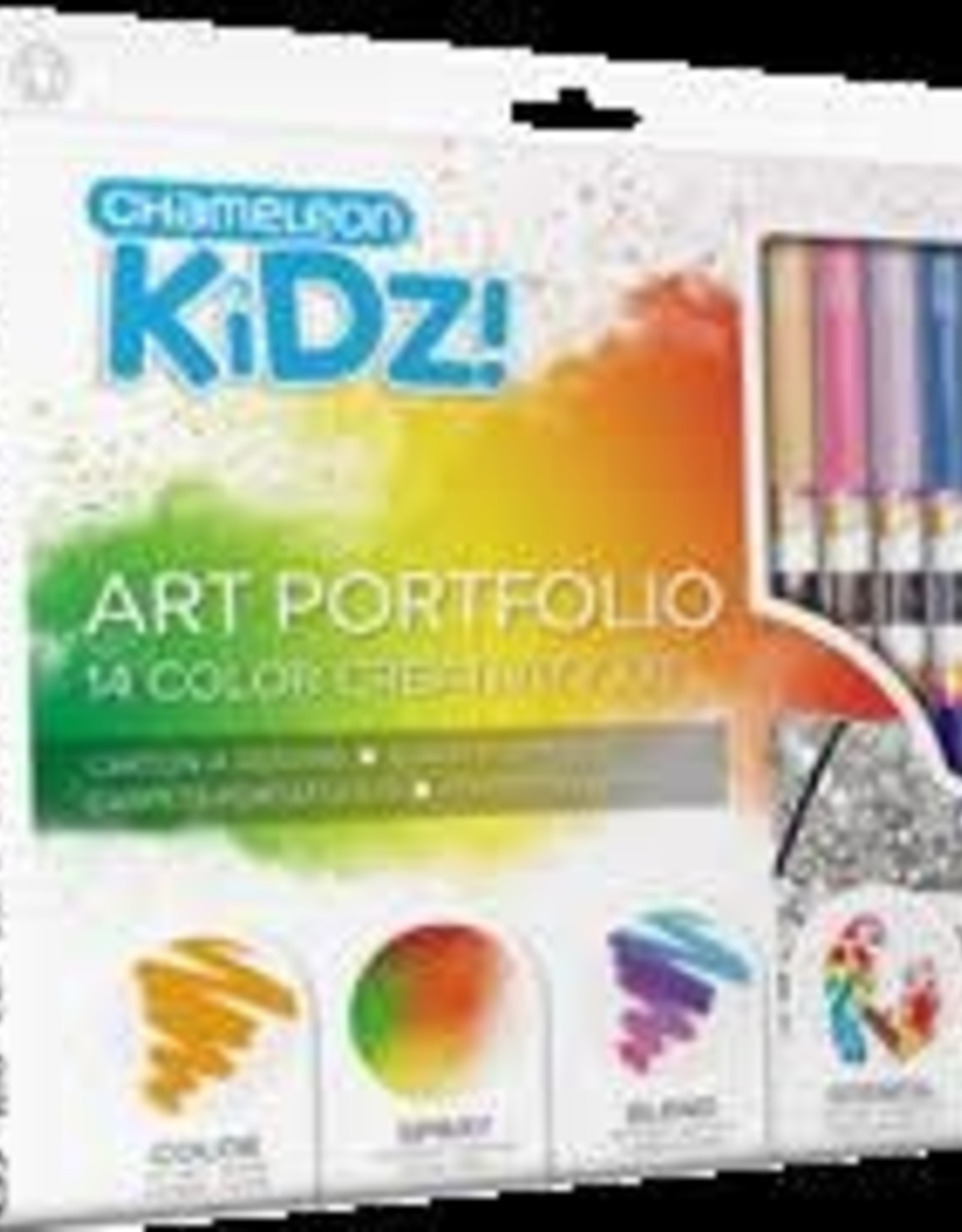 CHAMELEON KIDZ! ART PORTFOLIO 14 COLOR