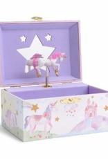RAINBOW UNICORN MUSICAL JEWELRY BOX