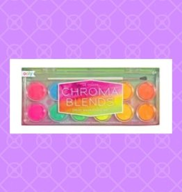 Chroma Blends Watercolor Set - Neon - 13 PC Set