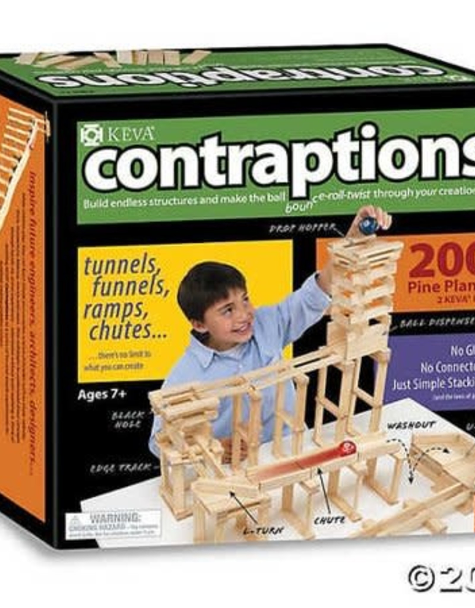 CONTRAPTIONS 200 PLANKS