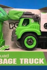 POWER DRIVER GARBAGE TRUCK