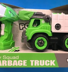 POWER DRIVER GARBAGE TRUCK