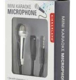 MICROPHONE MINI KARAOKE SILVER
