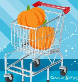MELISSA & DOUG SHOPPING CART METAL GROCERY