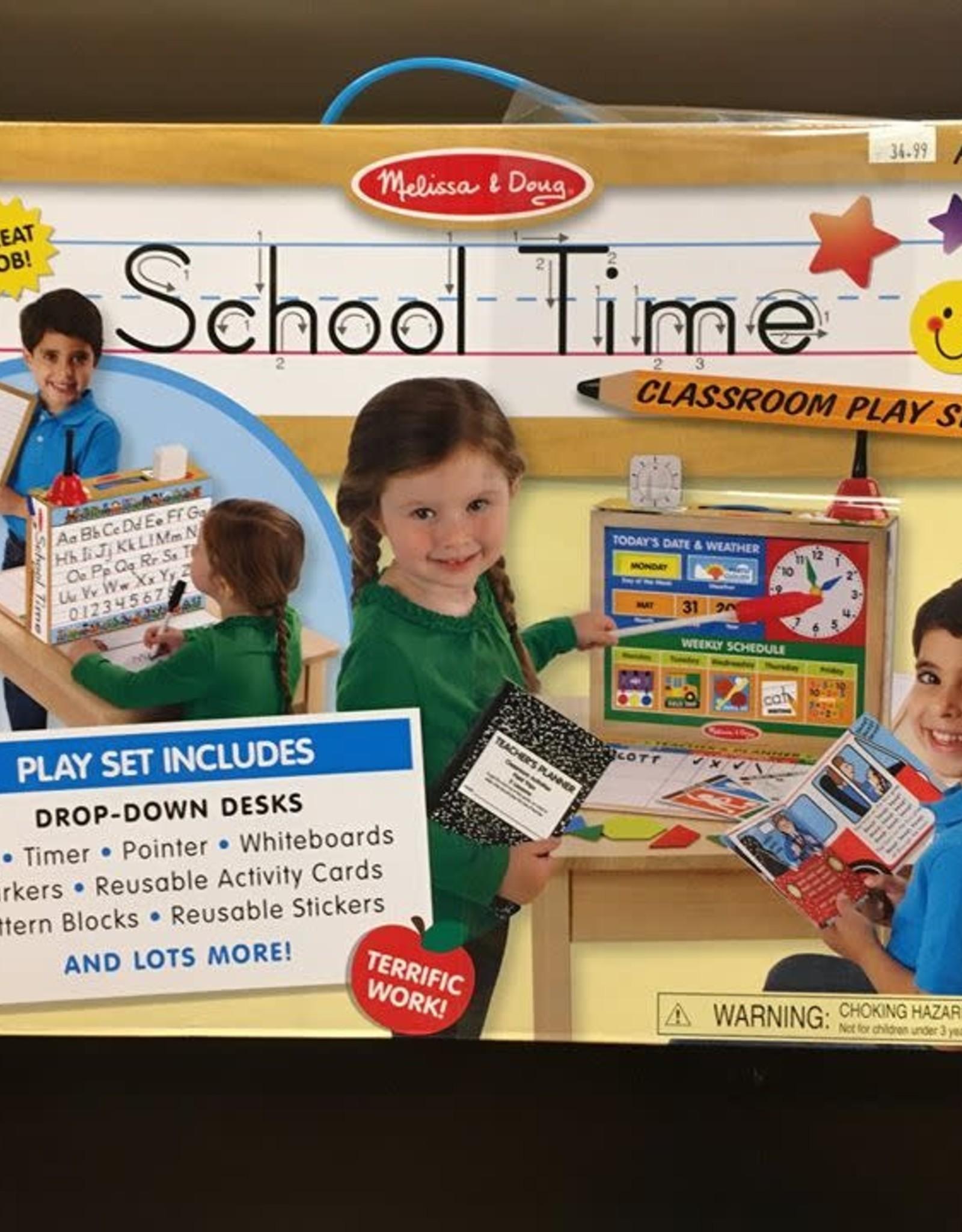MELISSA & DOUG SCHOOL TIME PLAY SET