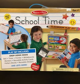 MELISSA & DOUG SCHOOL TIME PLAY SET