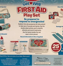 MELISSA & DOUG FIRST AID PLAY SET GET WELL