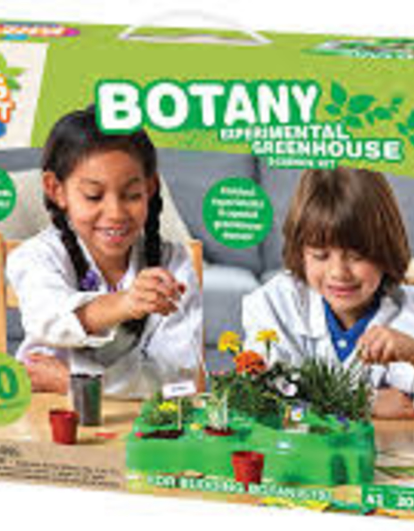 KIDS FIRST BOTANY GREENHOUSE EXPERIMENTAL