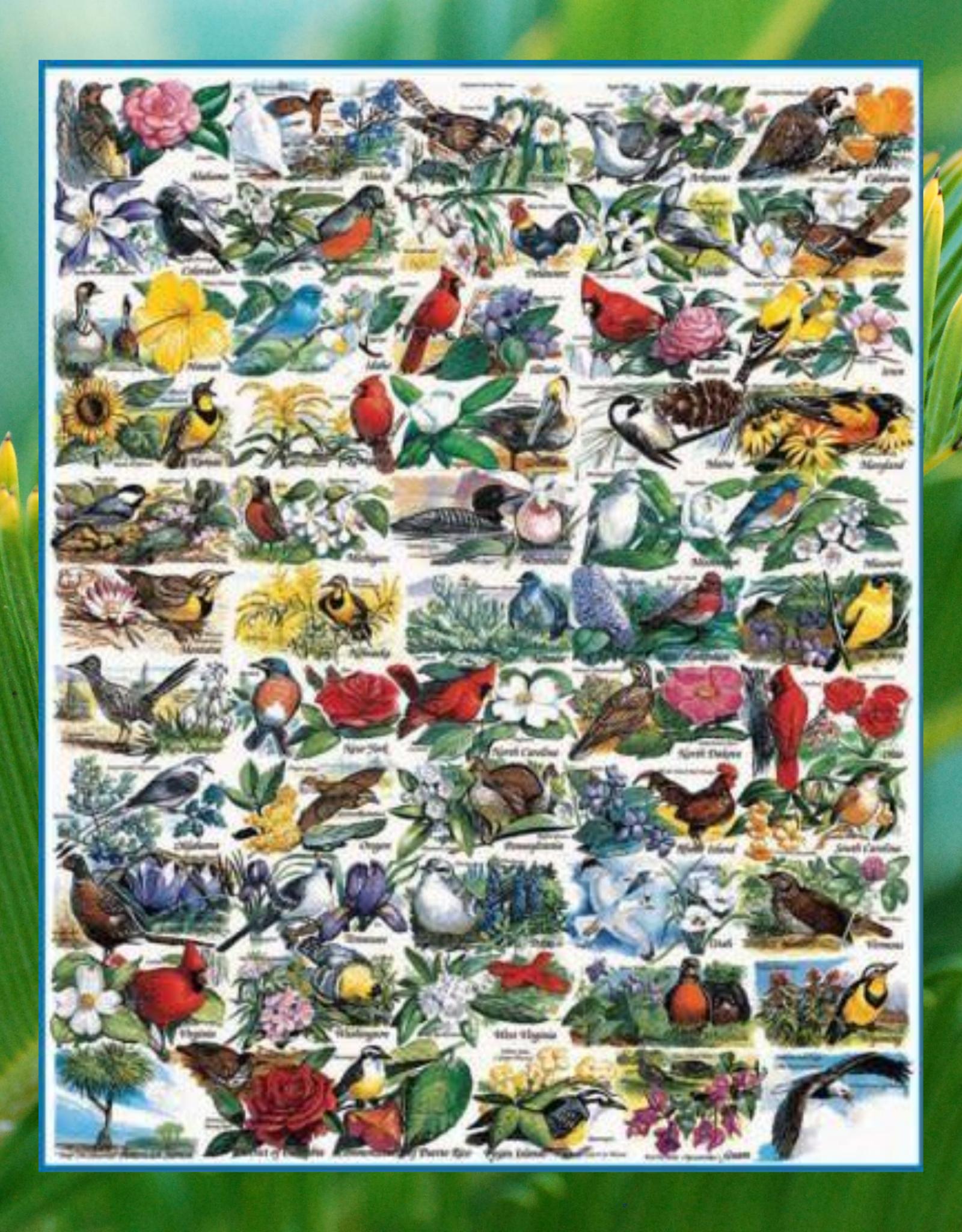 WHITE MOUNTAIN WHITE MOUNTAIN 1000 STATE BIRDS & FLOWERS