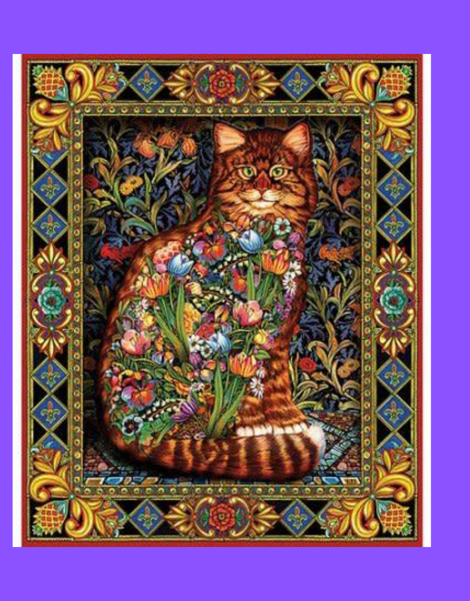 WHITE MOUNTAIN WHITE MOUNTAIN 1000 TAPESTRY CAT