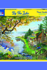 WHITE MOUNTAIN BY THE LAKE 1000 PC PUZZLE