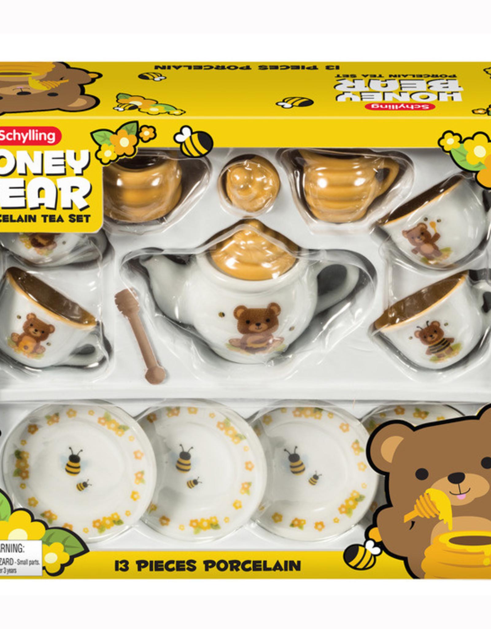 TEA SET HONEY BEAR