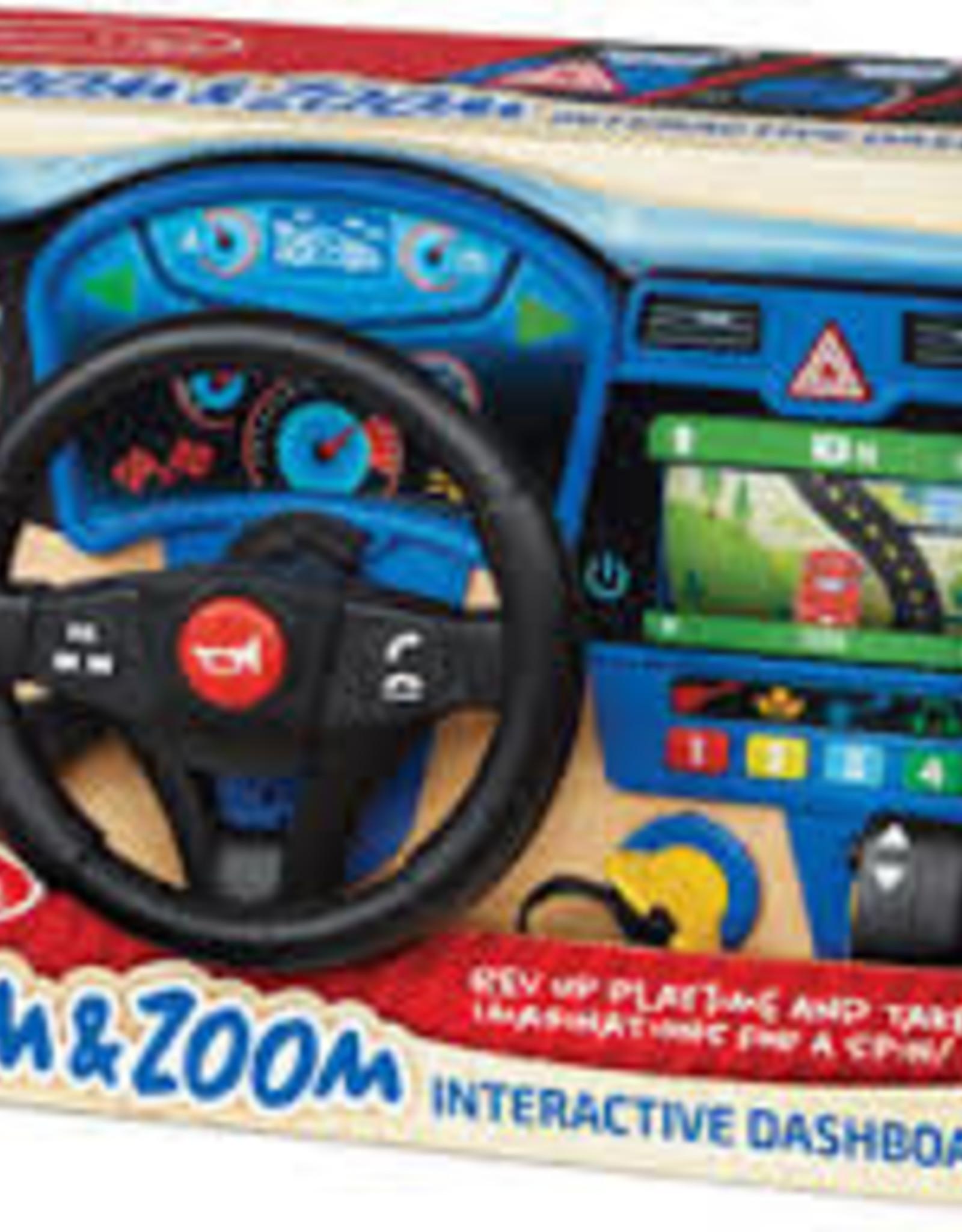 MELISSA & DOUG Vroom & Zoom Interactive Dashboard
