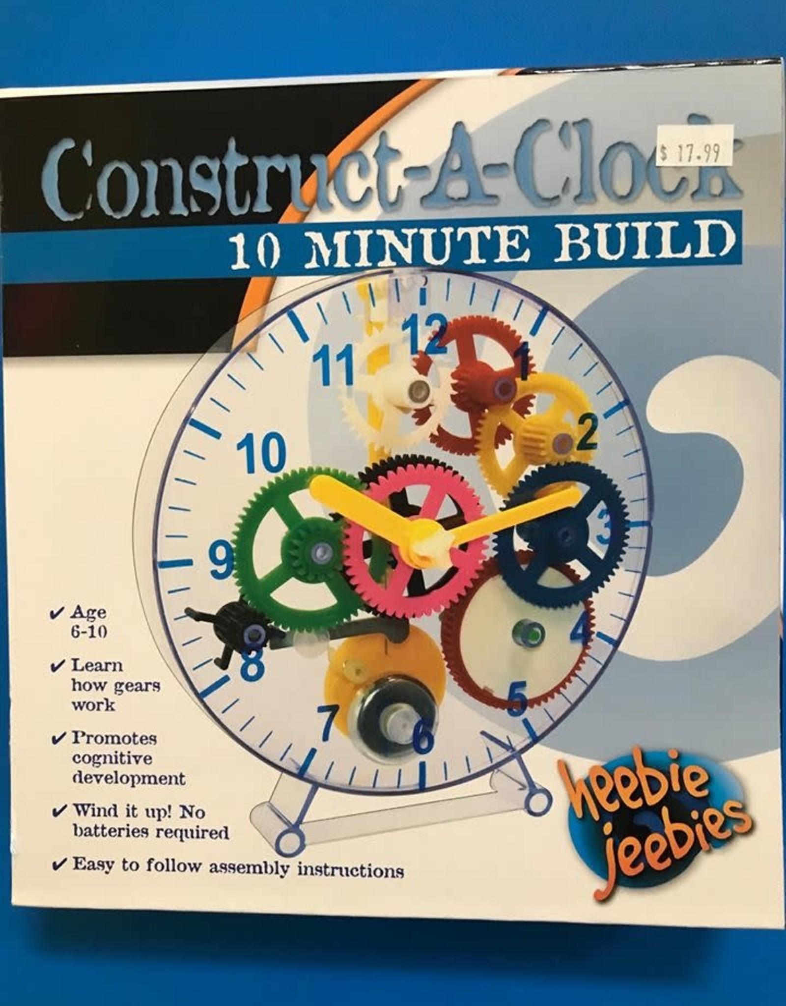 CONSTRUCT A CLOCK