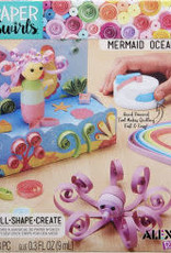 MERMAID OCEAN THEME PAPER SWIRLS