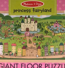 MELISSA & DOUG PUZZLE FLOOR MD PRINCESS FAIRYLAND
