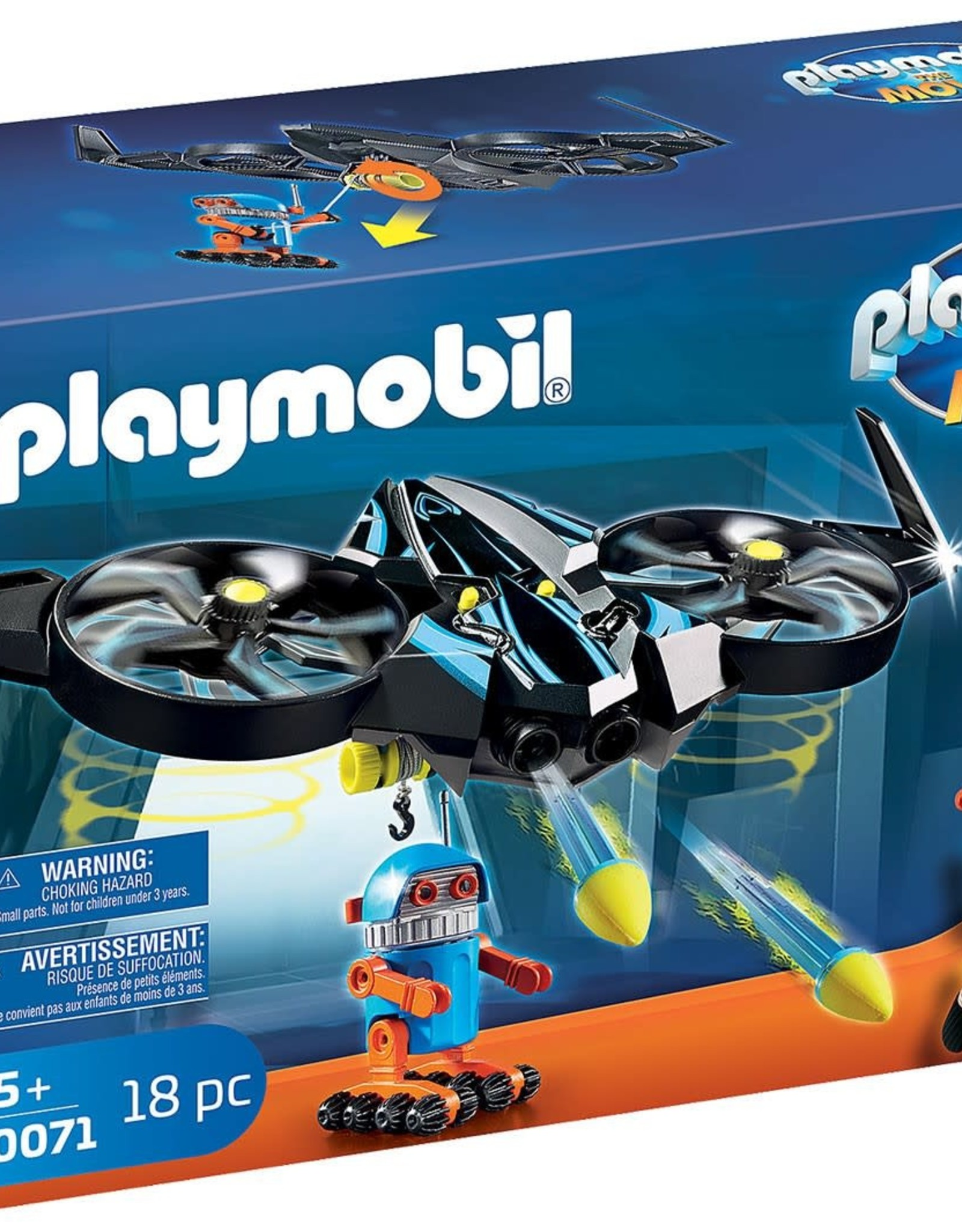 ROBOTITRON WITH DRONE