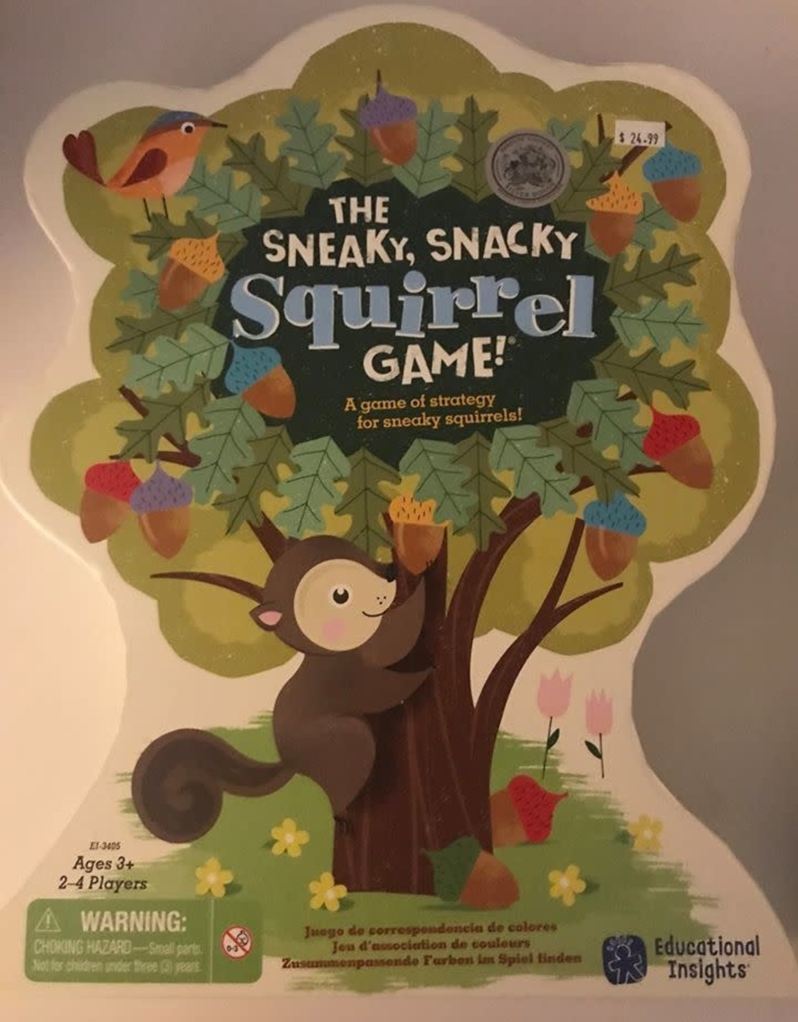 Learning Resources SNEAKY SNACKY SQUIRREL