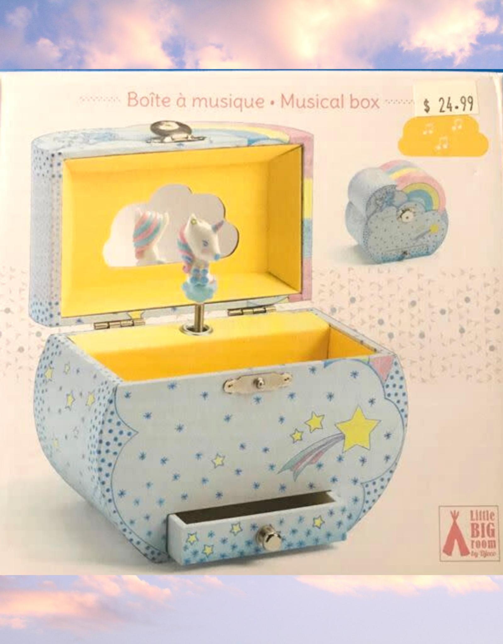 MUSIC BOX TREASURE UNICORN
