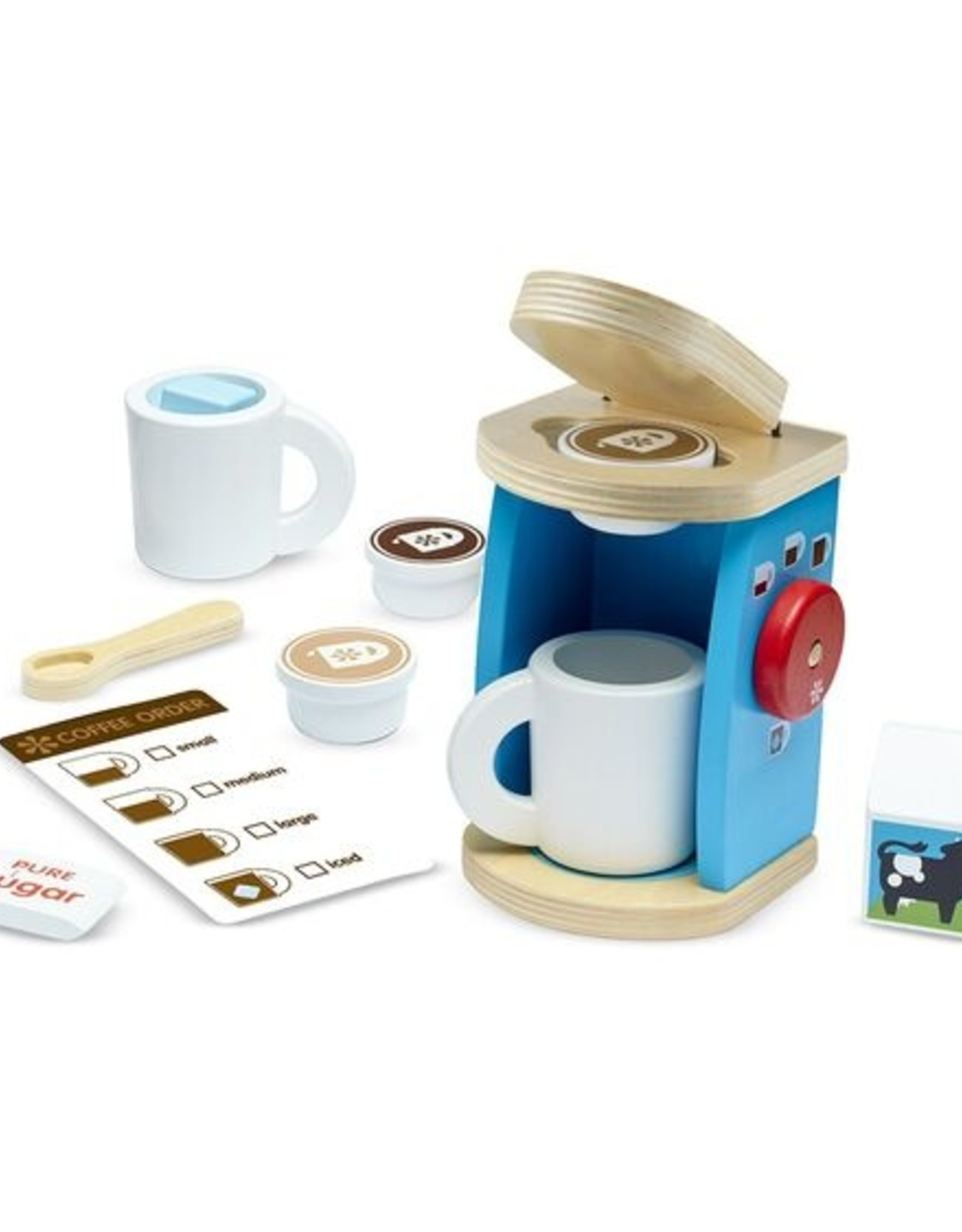 MELISSA & DOUG BREW AND SERVE COFFEE