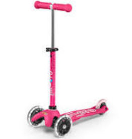 MICROSCOOTER MINI MICRO LED  PINK SCOOTER