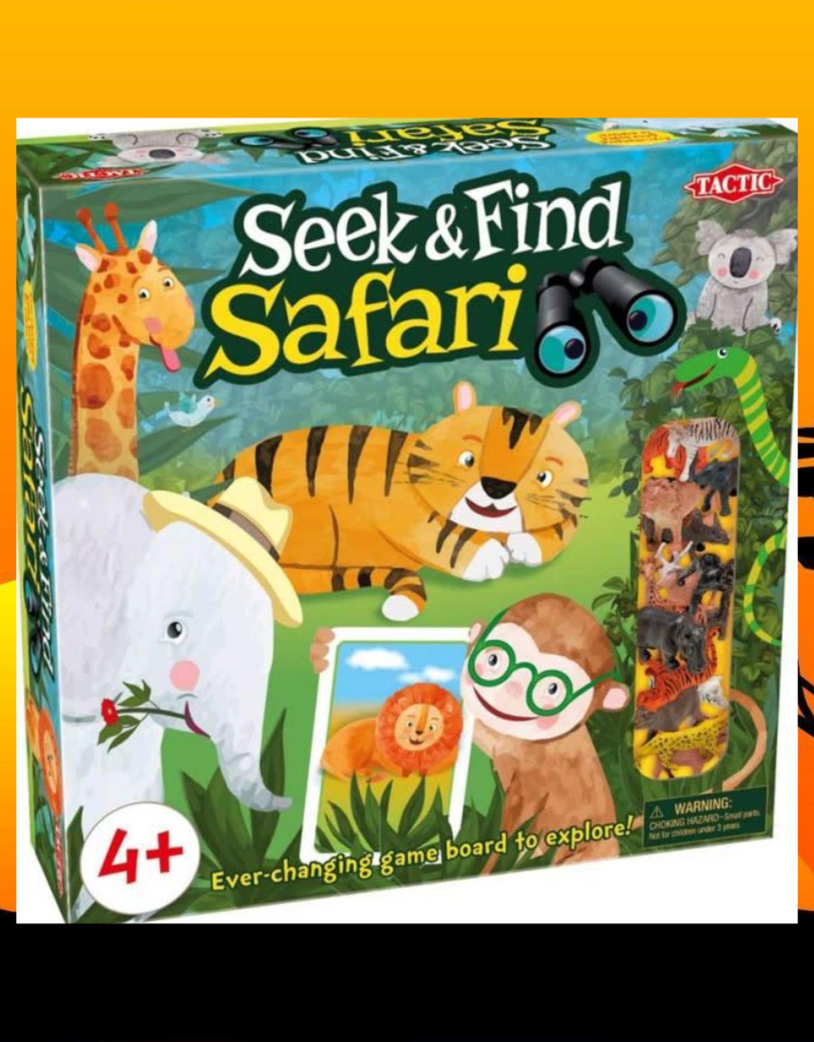 SEEK AND FIND SAFARI