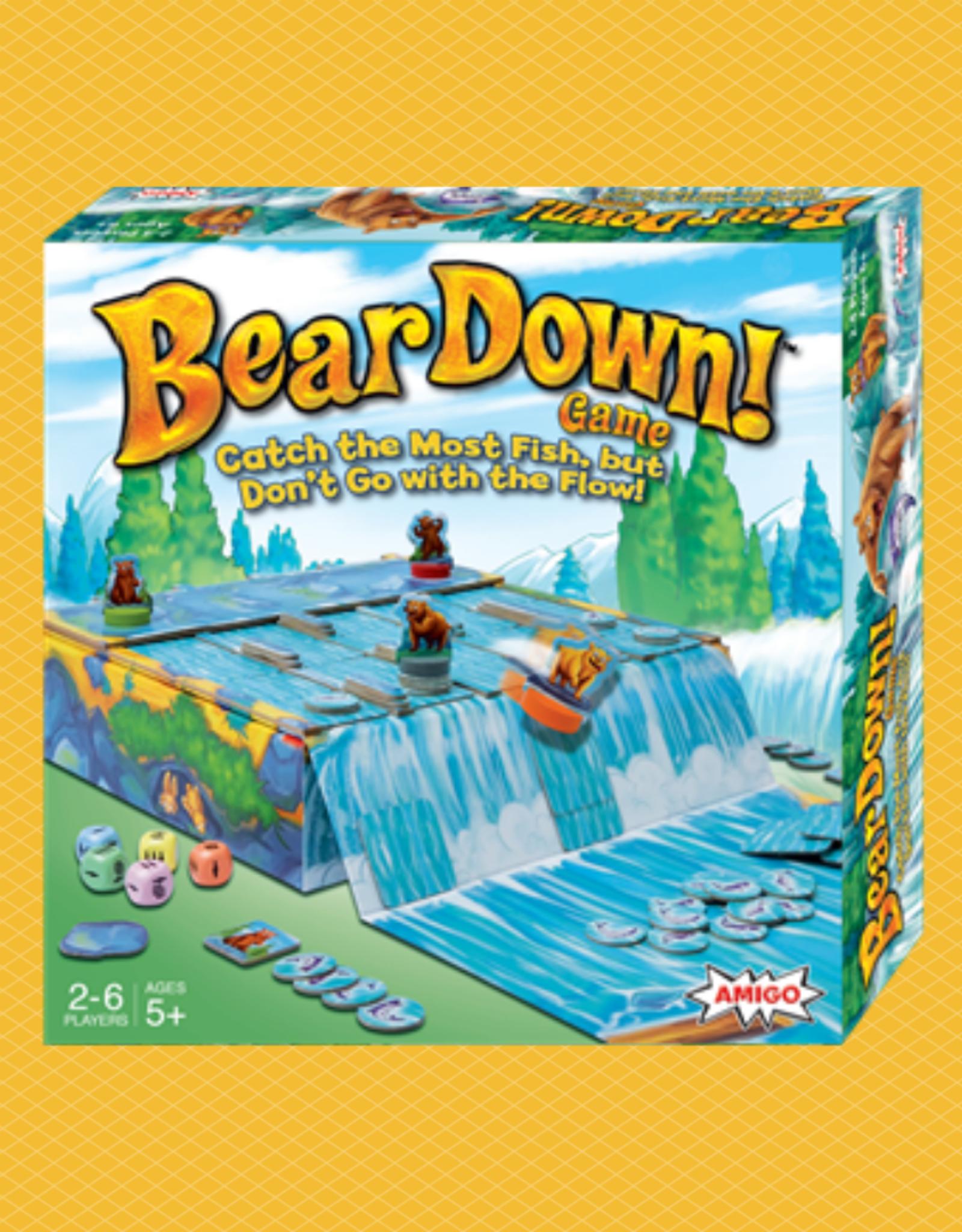AMIGO BEAR DOWN! GAME